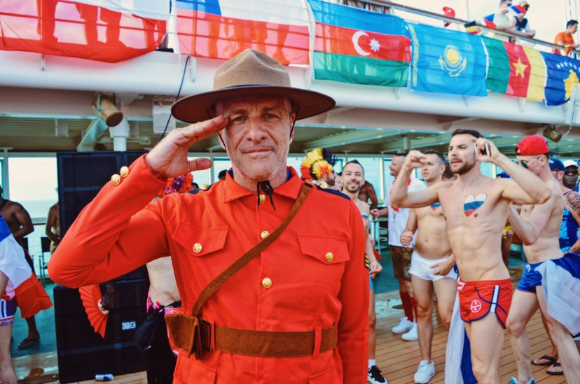 Saluting Canadian Ranger © CoupleofMen.com