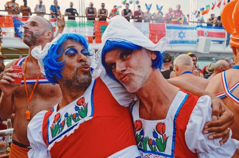 Our beloved friends from Amsterdam | Where are you from Party The Cruise 2017 © CoupleofMen.com