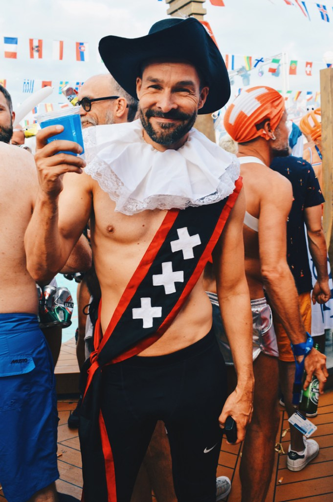 Handsome Amsterdamer | Where are you from Party The Cruise 2017 © CoupleofMen.com