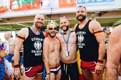 Even more Germans | Where are you from Party The Cruise 2017 © CoupleofMen.com