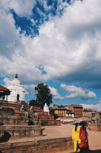 Beautiful moment walking around Bhaktapur   Gay Travel Nepal Photo Story Himalayas © Coupleofmen.com