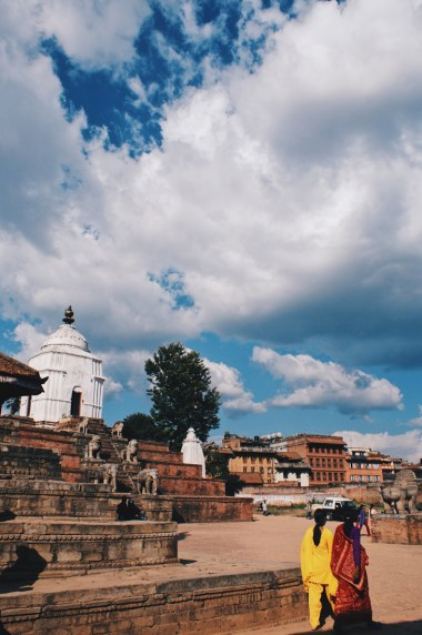 Beautiful moment walking around Bhaktapur | Gay Travel Nepal Photo Story Himalayas © Coupleofmen.com