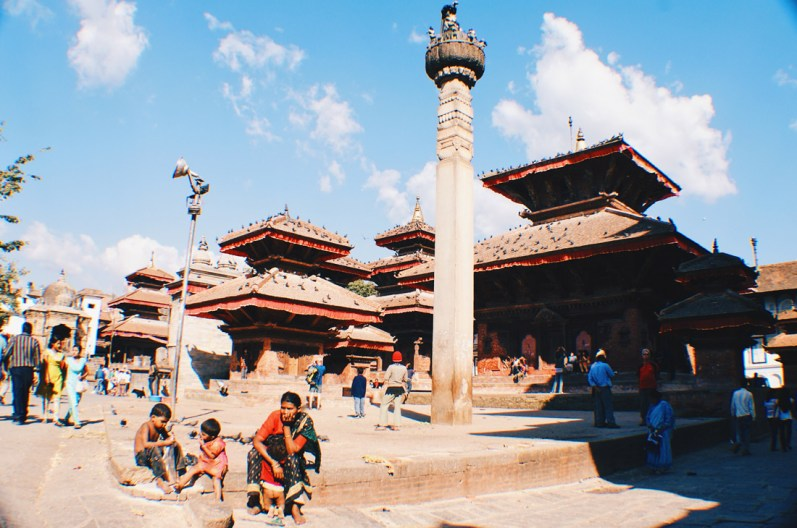 Hanumandhoka or Hanuman Dhoka on Durbar Square | Gay Travel Nepal Photo Story Himalayas © Coupleofmen.com