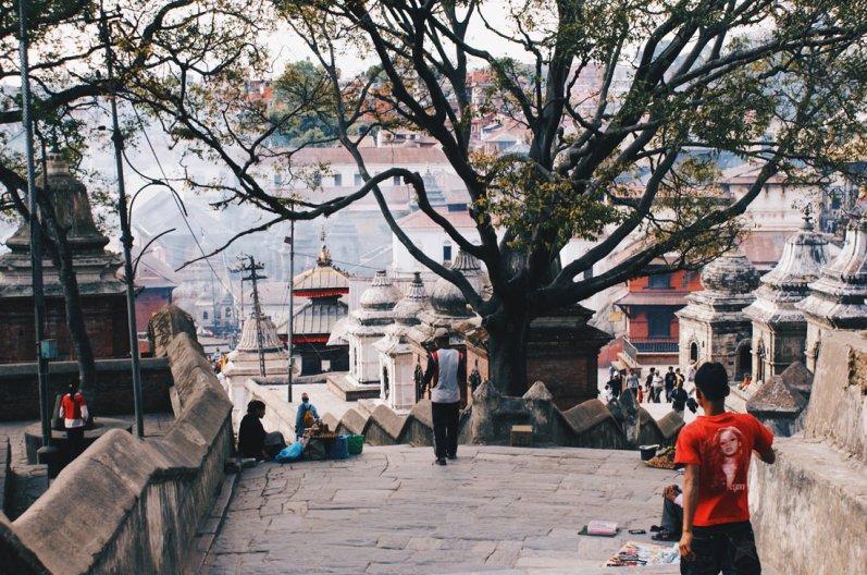 Temple complex Pashupatinath   Gay Travel Nepal Photo Story Himalayas © Coupleofmen.com