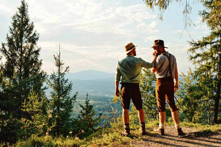 Gay Travel Guide Carinthia Southern Austria © CoupleofMen.com