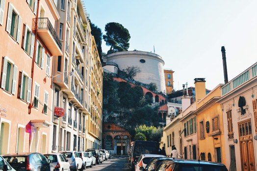 Gay Couple Travel France City Weekend Nice View over the castle hill of the City of Nice - Gay Couple City Weekend Nice © CoupleofMen.com