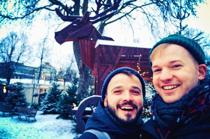 Gay Travel Guide: Tivoli Gardens Copenhagen in Winter & Christmas Time   Denmark