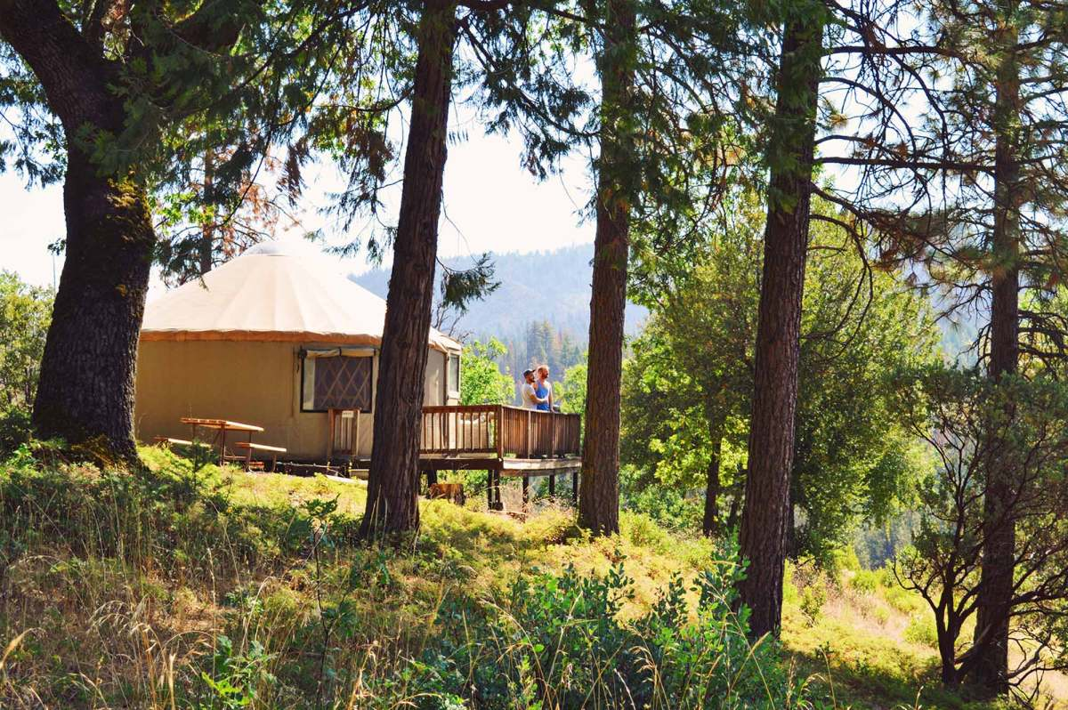 Thousand Trails Yosemite Lakes Resort | Our Gay-friendly Glamping Stay in Yurt 17