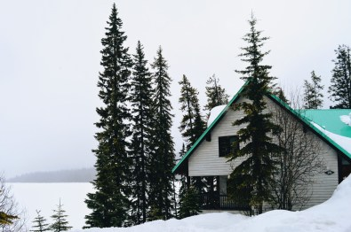 View from the Wellness Lodge Cabin | Emerald Lake Lodge gay-friendly © Coupleofmen.com