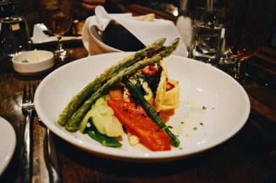 Enough vegetarian options for Daan | Emerald Lake Lodge gay-friendly © Coupleofmen.com