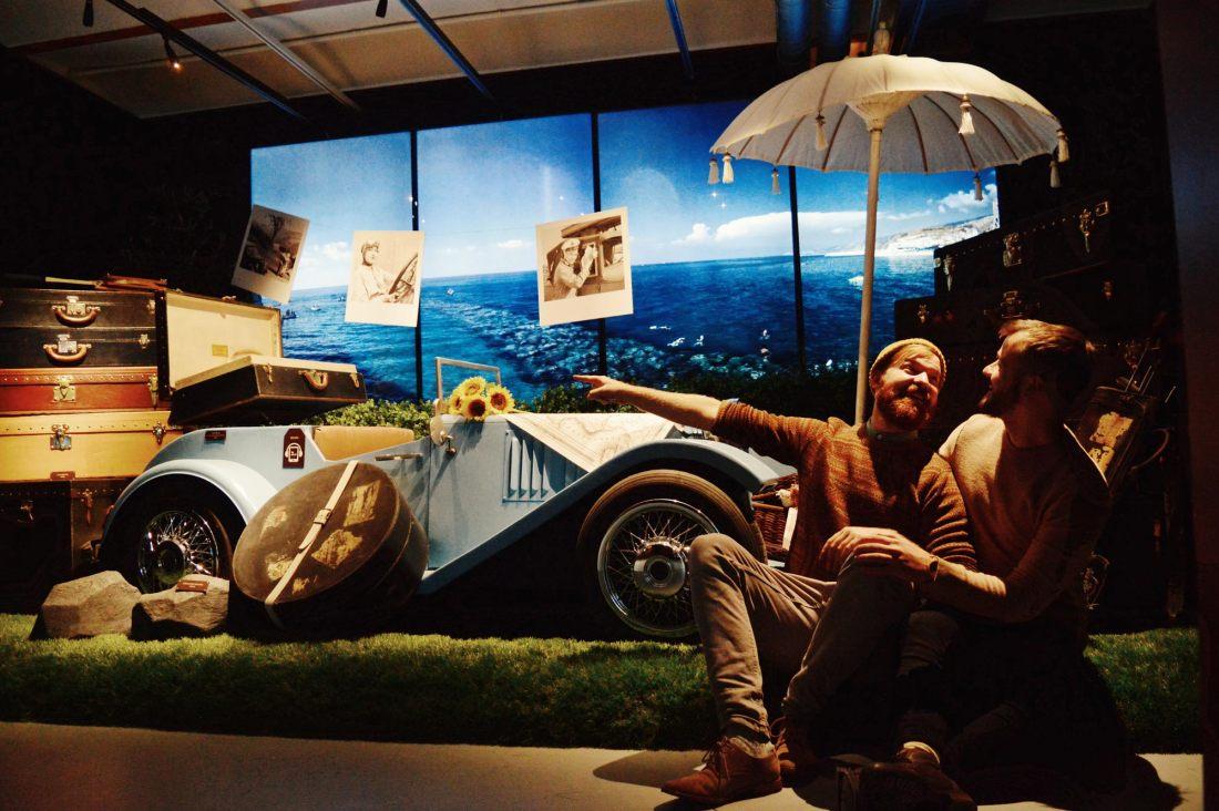 Traveling with Louis Vuitton | Legendary Trunks Exhibition Amsterdam © Coupleofmen.com