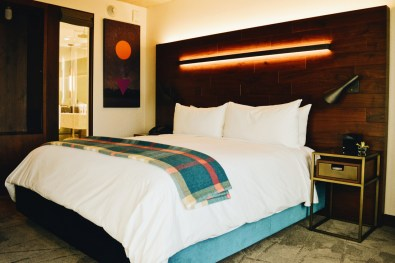 Comfortable Kingsize Bed | The Douglas Vancouver Hotel gay-friendly © CoupleofMen.com