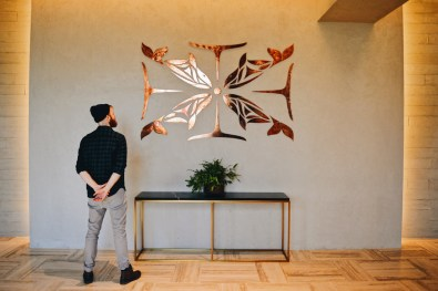 Art Pieces all over the Hotel Building | The Douglas Vancouver Hotel gay-friendly © CoupleofMen.com