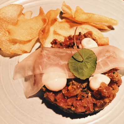 Schwulenfreundliche Restaurants Vancouver Tuna Tartare at Wildebeest | Gay-friendly Restaurants Vancouver © Eamonn