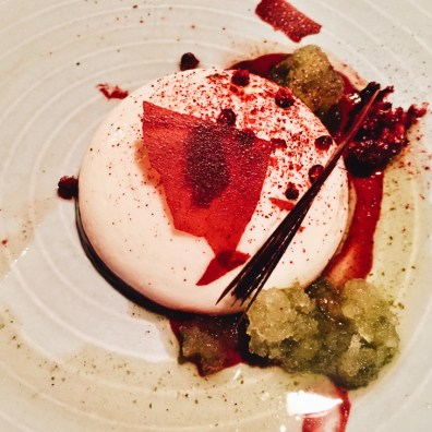 Delicious Pannacotta at Wildebeest | Gay-friendly Restaurants Vancouver © Eamonn
