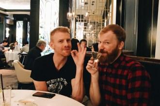 10 Best Gay-friendly Restaurants in Vancouver Schwulenfreundliche Restaurants Vancouver Vegetarian friends: Daniel Newmann and Daan Colijn | Gay-friendly Restaurants Vancouver © Coupleofmen.com