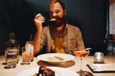 10 Best Gay-friendly Restaurants in Vancouver Schwulenfreundliche Restaurants Vancouver Schwulenfreundliche Restaurants Vancouver Daan enjoying his vegetarian dish at Juniper restaurant | Gay-friendly Restaurants Vancouver © Coupleofmen.com