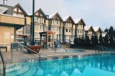 Outdoor pool & hot tub for after skiing relaxation | Whistler Pride 2018 Gay Ski Week © Coupleofmen.com