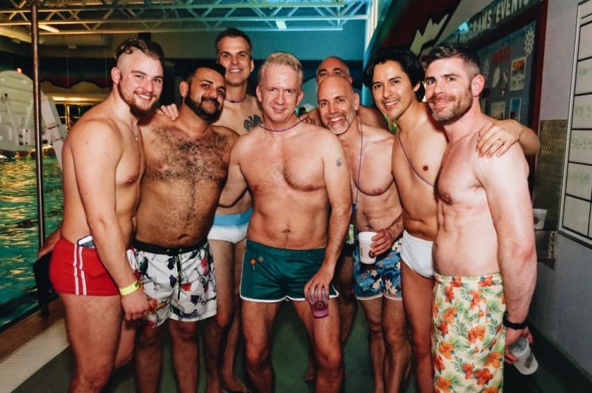 Sexy Men for all tasts   Whistler Pride 2018 Gay Ski Week © Steve Polyak