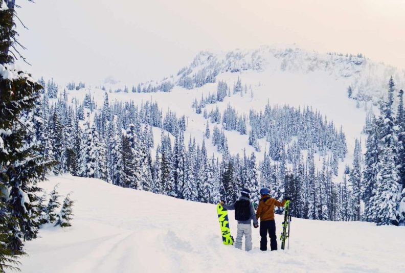 Gay-friendly Winter Sports in Whistler Blackcomb, British Columbia | Zip Lining Snowmobiling TAG Whistler Gay-friendly © Coupleofmen.com