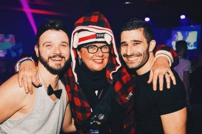 But the funny breaks with Barb Snelgrove are the best moments | Whistler Pride 2018 Gay Ski Week © Darnell Collins