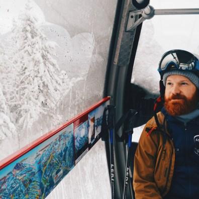 Skiing and Snowboarding in fresh Canadian Powder | Whistler Pride 2018 Gay Ski Week © Coupleofmen.com