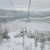 Spectacular view of the Whistler Valley | Whistler Pride 2018 Gay Ski Week © Coupleofmen.com