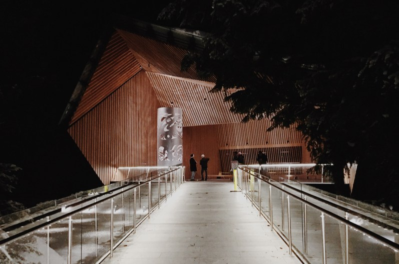 Architectural master piece made of wood, concrete and glas: Audain Art Museum | Whistler Pride 2018 Gay Ski Week © Coupleofmen.com