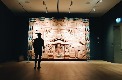 Audain Art Museum is showcasing First Nation Art | Whistler Pride 2018 Gay Ski Week © Coupleofmen.com