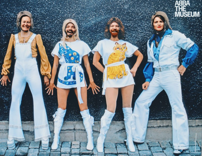 Stockholm Gay Travel News A must do for ABBA fans: a selfie with the ABBA band | Gay Travel Tips for EuroPride 2018 Stockholm © Coupleofmen.com