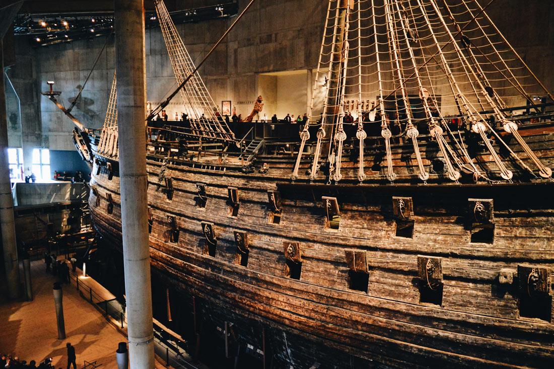 Vasa Ship is already 390 years old   Gay Travel Tips for EuroPride 2018 Stockholm © Coupleofmen.com