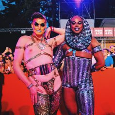 Gay Wien Designhotel Le Méridien Wow! No words needed for the Red Carpet at LIfe Ball 2018 | Gay-friendly Design Hotel Le Méridien Vienna © Coupleofmen.com