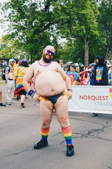You are beautiful no matter what they say | Gay Edmonton Pride Festival © Coupleofmen.com