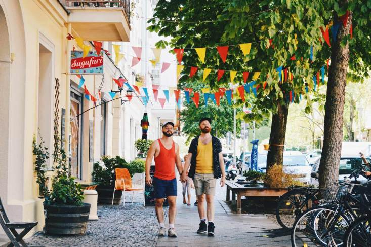 Exploring Berlin Hand-in-hand | Berlin Gay Travel Guide © Coupleofmen.com