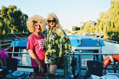 Alexander von Humboldt Cruise Ship with star moderators Ades Zabel & Biggy van Blond | CSD Berlin Gay Pride 2018 © Coupleofmen.com