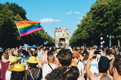 A total of 60 trucks attending the 40th Pride Parade in Berlin | CSD Berlin Gay Pride 2018 © Coupleofmen.com