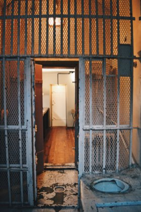 That's how the historical jail cells look like   Katajanokka Hotel Helsinki Gay-friendly Review © Coupleofmen.com