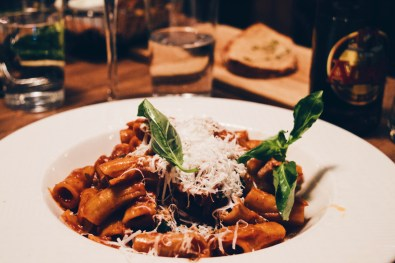 Delicious freshly homemade pasta at Restaurant Toscanini | Klaus K Hotel Helsinki Gay-friendly Tom of Finland Package © Coupleofmen.com