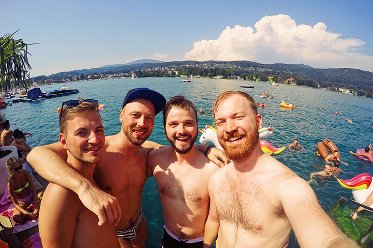 Best of Pink Lake Festival: Our LGBTQ+ Story with Photos & Videos | Southern Austria