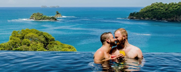LGBTQ+ Gay Events 2019 Gay Travel Guides 2018 Casa Chameleon Las Catalinas gay-friendly Hotel in Costa Rica © Coupleofmen.com