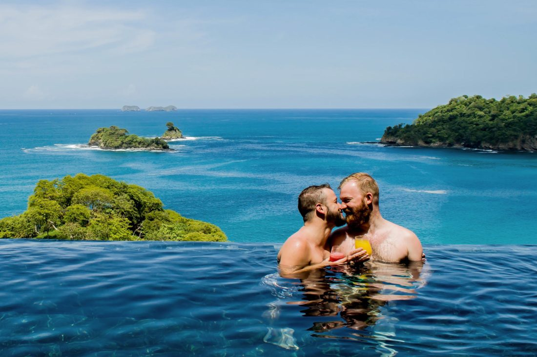 Gay Travel Guides 2018 Casa Chameleon Las Catalinas gay-friendly Hotel in Costa Rica © Coupleofmen.com