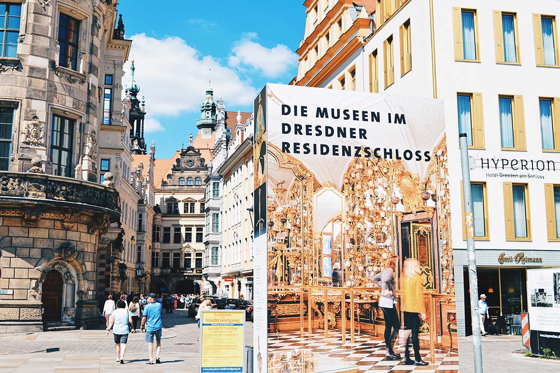 Dresden is especially famous for its museums and cultural treasures © Coupleofmen.com
