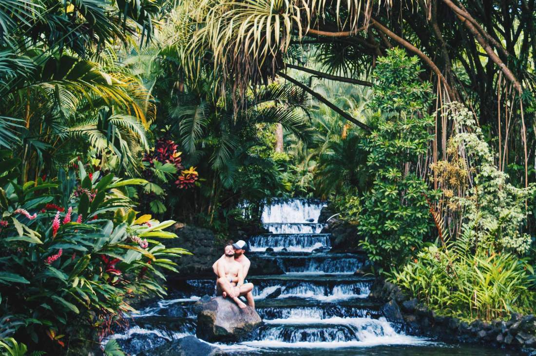 In the end, #lovewins, always! Enjoying Hot Springs at Tabacon © Coupleofmen.com