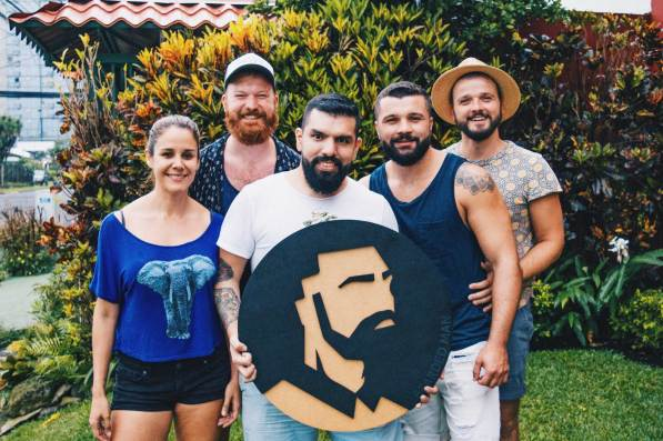Gay Travel Journal Costa Rica Meeting our friends Jason and Bryan from Bearded Man | Gay-friendly Costa Rica © Coupleofmen.com