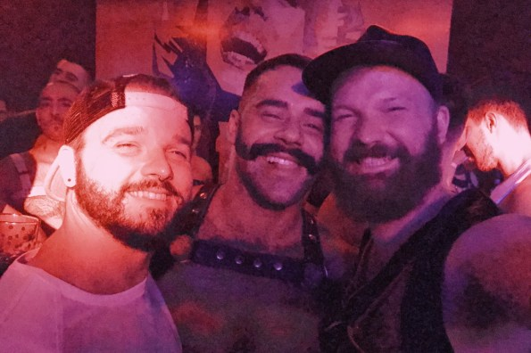 Selfie with Teddy Torres at Gay Fetish Party Eagle69 | Gay-friendly Costa Rica © Coupleofmen.com