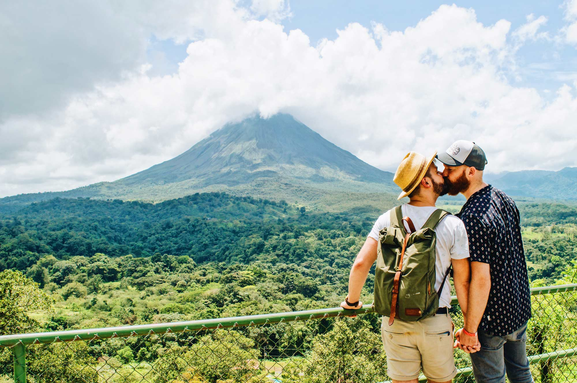 Gay Travel Journal Costa Rica Exploring Gay-friendly Costa Rica hand-in-hand together © Coupleofmen.com