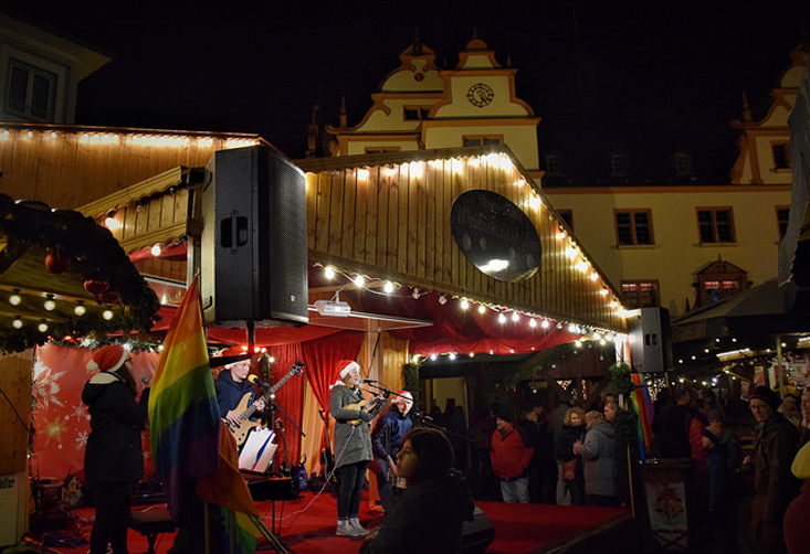 Gay Christmas Market in Darmstadt | Gay Christmas Markets 2018 in Germany © Vielbunter Weihnachtsmarkt