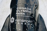 Bobsled of the Canada Olympic Park Winsport   Winter Road Trip Alberta Highlights Canadian Rocky Mountains © Coupleofmen.com