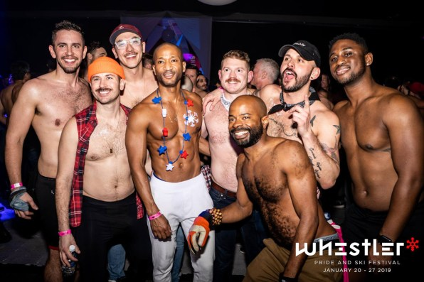 Whistler Pride Ski Festival Whistler Pride Gay Skiwoche Everyone is having fun - Diversity, Love and Fun - Snowball 2019 © Whistler Pride/ Photo by Darnell Collins