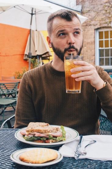 Gay Reise Dutchess County Karl's Tip: The Homemade Limonade at The Homespun Foods in Beacon, New York © Coupleofmen.com